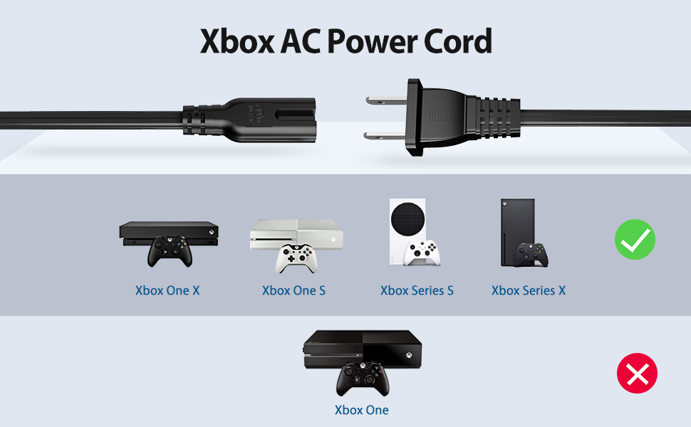 xbox one s x power cord replacement