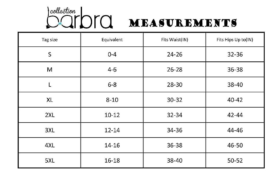size chart, plus size, regular size, brief