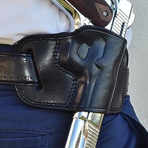 Ottoza Vegatable Tanned Full Greain Leather Gun Holster