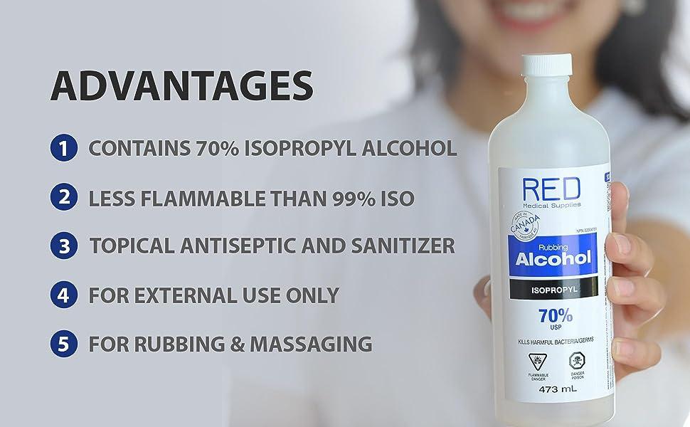 main prep disposable serum vitamin lingettes alcohol virus face friction ethyl alchol kit surgical
