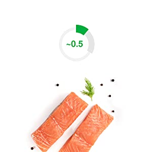 .5g from foods like fish and citrus
