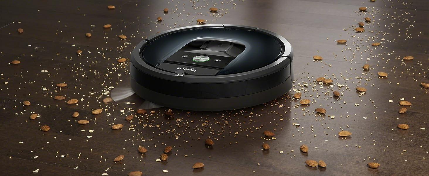 iRobot Roomba 981 ruimt ook grof vuil op