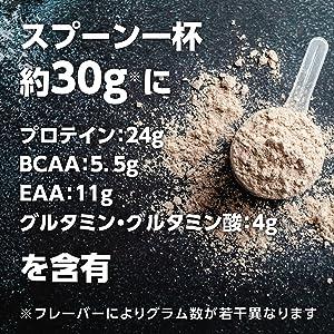 WPI BCAA EAA グルタミン