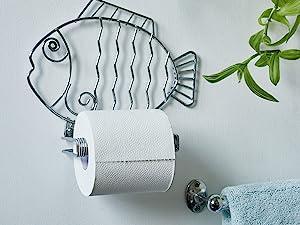 Toilet roll holders