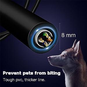 Tough cat8 cable