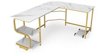 computer desk with storage