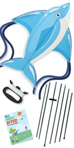 dolphin kite