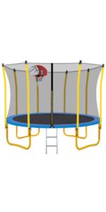 WISHWILL 12FT Trampoline