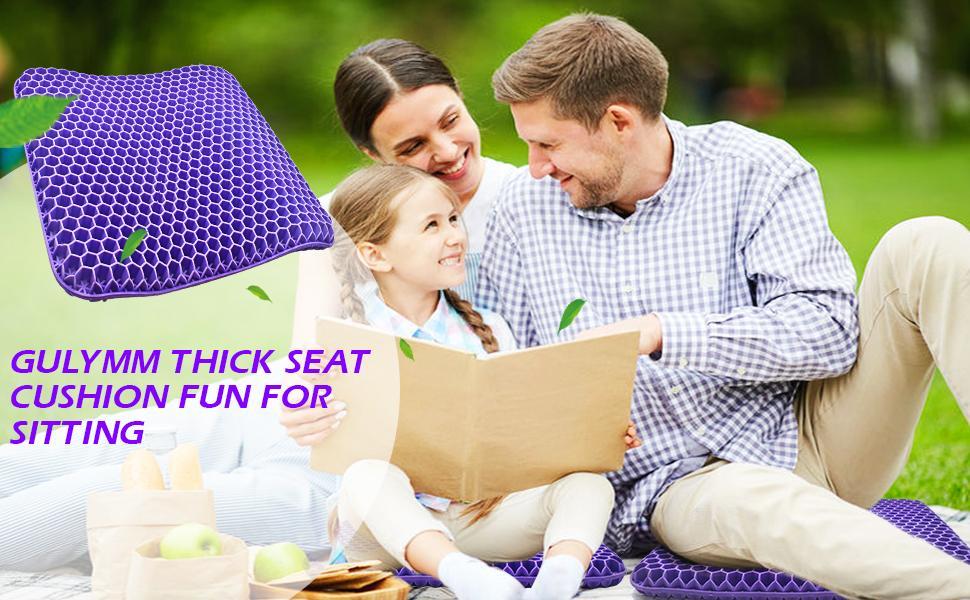 purple gel seat cushion