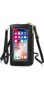 Touchscreen Handy Schultertasche