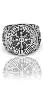 viking rune ring