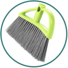 Sweeping Broom for Dry Floor indoor outdoor all flooring types multi purpose cleaning tool sweeper