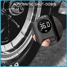 FYTENG Mini pompe électrique de gonfleur de compresseur d'air portable  pour pneus de vélo de voitur