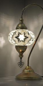 white star boho lamp