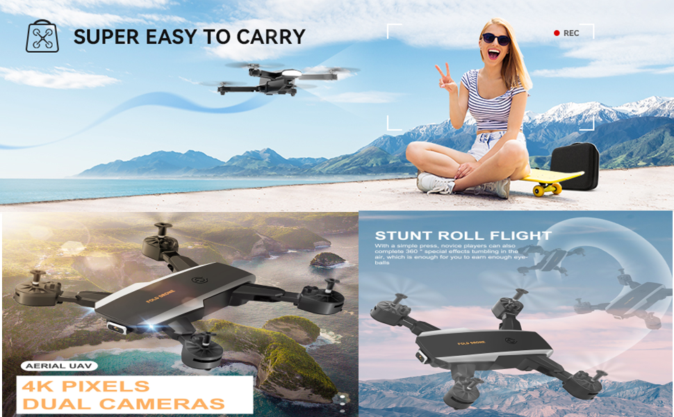 Foldable RC Quadcopter for Beginners