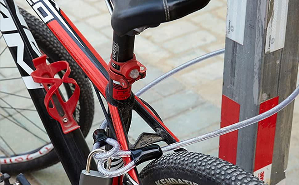 Bicycle Lock, Bicycle Lock Cable, Bicycle Chain Lock, Bicycle Lock Kit,