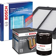 Bosch Premium and Workshop Air and Oil Filters, HEPA Cabin Air Filters