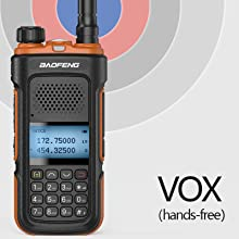 Hands-free(VOX)