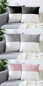 GREAGEL throw pillow covers