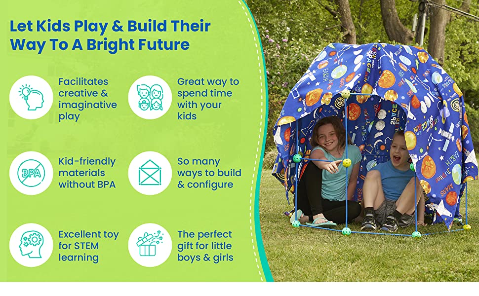 Let Kids Play & Build Their Way To A Bright Future