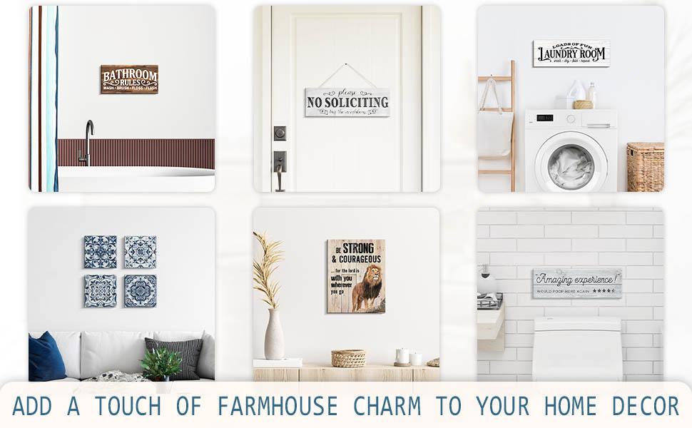 bathroom laundry room family  Inspirational Wall Art  Wall Decor