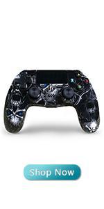 PS4 black gamepad