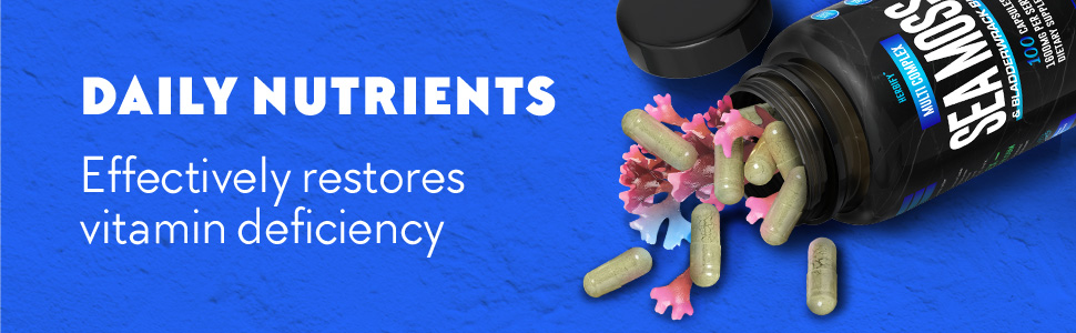 Daily Nutrients. Effectively restores vitamin deficiency