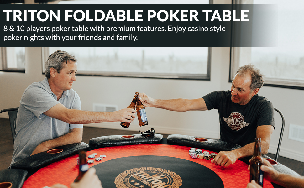 Fold Up Poker Tables For Perfect Poker Night