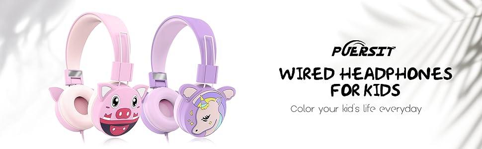 Puersit Kopfhörer Kinder