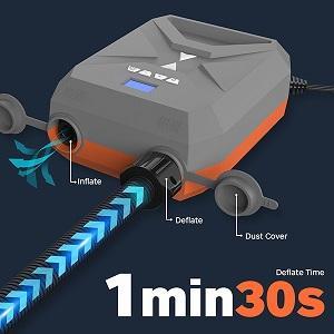 sup electric pump, sup pump electric portable, electric air pump, paddle board pump