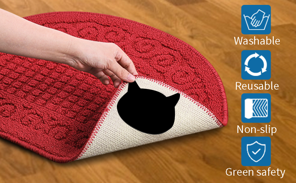 rug grippers for area rugs anti slip rug grips