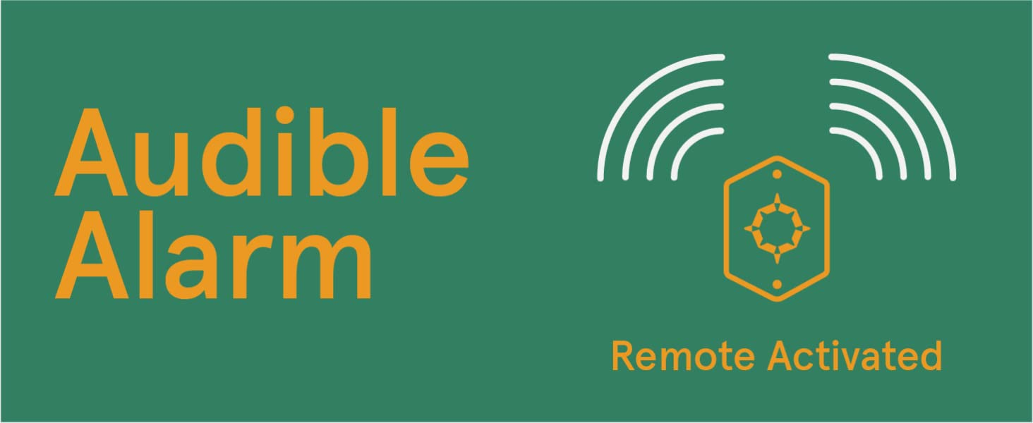 Audible alarm with remote for bike, biking, cycling with GPS, LTE, antitheft