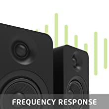 """YU Passive 4"""" handles frequencies from 60 Hz - 20 kHz to produce a neutral and balanced tone"""