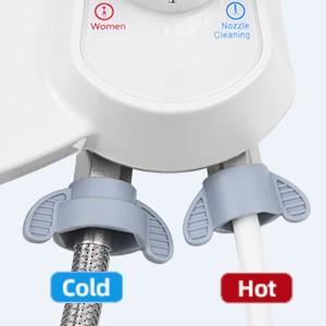 Warm water bidet