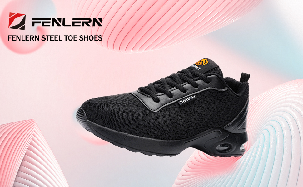 steel toe shoes for women lightweight work safety shoes