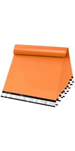 Orange Poly Mailers