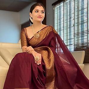 Women's Kanjivaram Saree