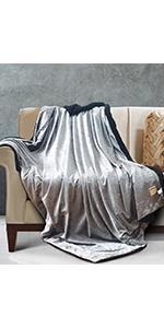 glitter sherpa blanket throw
