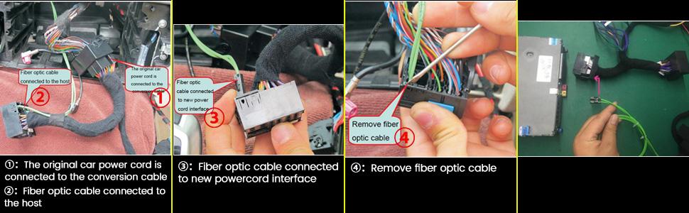 Remove fiber optic cable