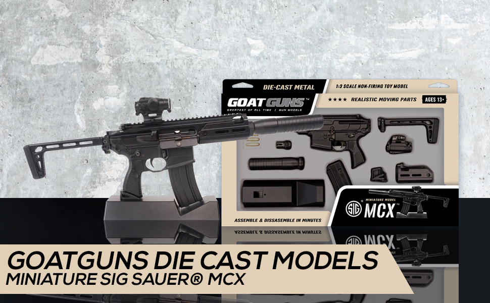 Miniature MCX Model