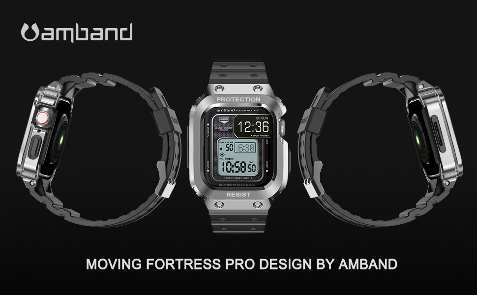 amBand Apple Watch Bands with Case