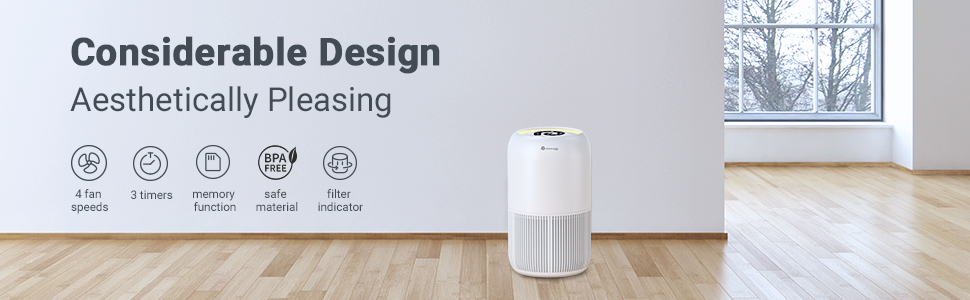 air purifier for home bedroom room air cleaner