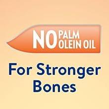 no palm olein oil for stronger bones