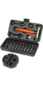 Roll Pin Punch Set with Bench Block