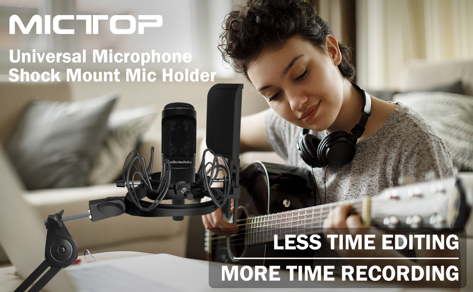 Universal microphone shock mount