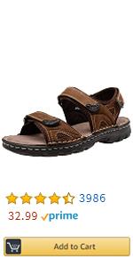 Sandals Leather Open Toe Beach Sandal