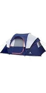 10 Person Tent-Blue