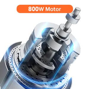 800w motor
