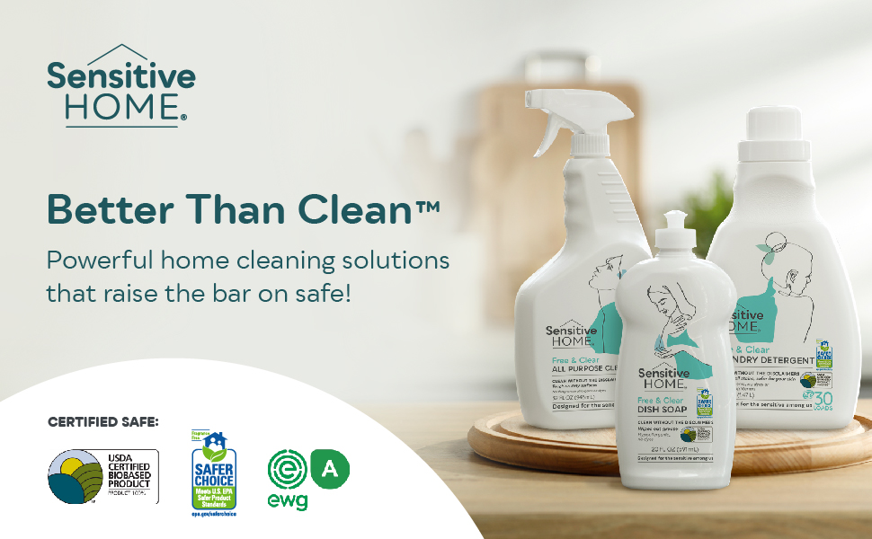Sensitive Home Better Than Clean home cleaning solutions