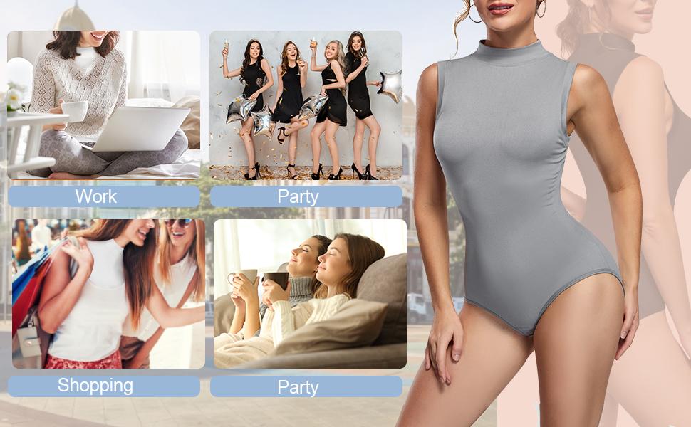 waist thread bodysuit